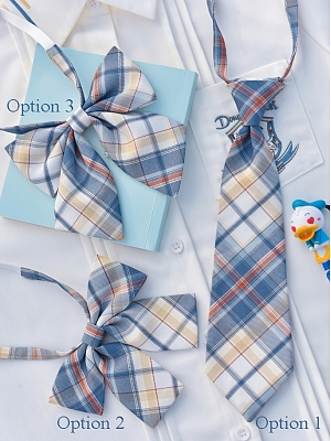 Disney Authorized Donald Duck Series Tie / Bow Tie by Mori Tribe