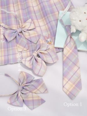 Disney Authorized Daisy Duck Series Tie / Bow Tie by Mori Tribe