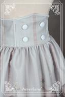 Custom Size Available Empire Bowknot Waistbelt Lace Hemline SK - Chrono Guardian by Souffle Song