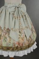 Natural Waist Bowknot at Front Lolita Skirt - Mucha by Souffle Song