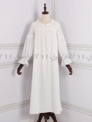 Princess Cotton Vintage Pajama Nightgown by Angel fields