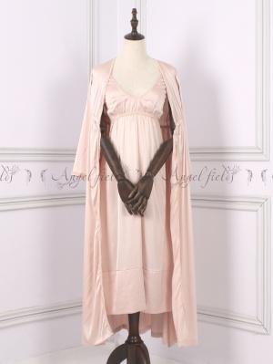 Princess Dana Sexy V Neckline Vintage Nightgown by Angel fields