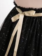 Single Layer Paillette Star Hemline Skirt by Boguta