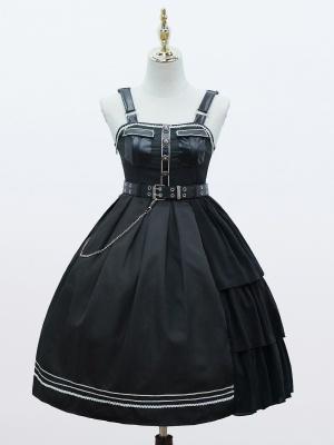 Lord Night Military Lolita Dress JSK by Cat Highness