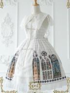 Church Stained Window Lolita Dress JSK by CEL