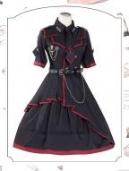 Losers Eat Dust Military Lolita Dress OP by ChunLv Lolita