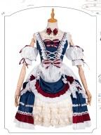 Snow White Sweet Lolita Dress JSK Full Set by ChunLv Lolita