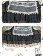 April Xiuman Country Style Lolita Dress OP by ChunLv Lolita