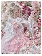 Angel Praying Flower Wedding JSK by Diamond Honey