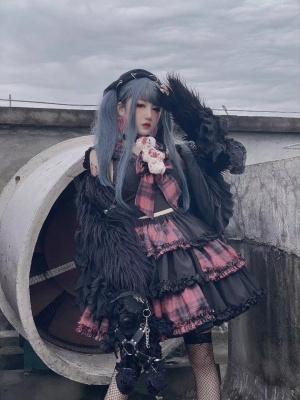 Esports Girls Rebellious Bear Harajuku Set by Diamond Honey