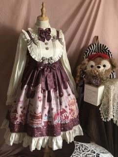 Sweet Little Teddy Lolita Dress JSK by Dreamy City