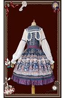 Raspberry Bunny Ears Long Sleeves Chiffon Blouse by Infanta
