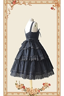 Cake Tree Tiered Flounce Skirt Lolita Dress JSK by Infanta