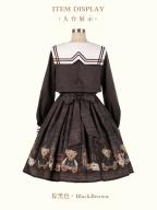 The British Journey Sailor Collar Lolita Dress OP by KIHOLS
