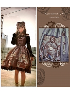 Steampunk Cat I Adjustable Straps JSK by Souffle Song