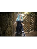 Brilliant Temple Elegant Gothic Lolita Dress OP by Souffle Song