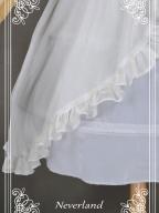 Character Prints Belt Chiffon Fabric Overdress By Souffle Song