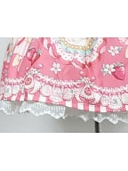 Custom Size Available Strawberry Prints Four Colors Available JSK By Souffle Song