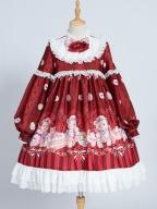 Nurse Bear Twins Lolita Dress OP by OCELOT