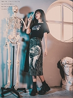 Quirky Hut and Junji Ito Collaboration Tomie T-shirt Side Drawstring by Quirky Hut