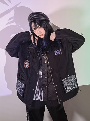 Quirky Hut and Junji Ito Collaboration Tomie Jacket by Quirky Hut