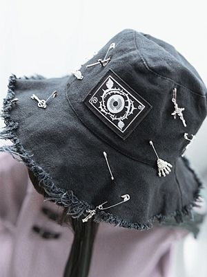 Rose Eyeball Series Bucket Hat by Quirky Hut