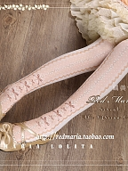 Serval Handle Pantyhose by Red Maria Lolita