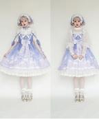 Moon Street Lolita Sweet Dress JSK by Red Maria lolita
