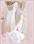 Love Cycle Velvet Over Knee Stockings by ROJI ROJI