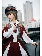 Girl Commander Series Military Style Shirt by SEVEN BABY Lolita