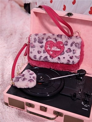Sweet Little Leopard Y2K Hot Girl Harajuku Style Crossbody Bag by To Alice