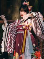 Maple Moon Wa Lolita Dress JSK Set by With PUJI