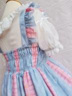 Sweet Prints Chocolate Meow Dress JSK Lolita by Yilia Lolita