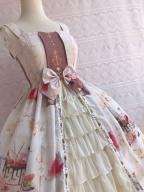 Midsummer Icy Dessert Chiffon Dress JSK Lolita by Yilia Lolita
