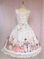 The Harvest Season of Bunny Farm Lolita Dress JSK by Yilia Lolita