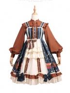 Christmas Far Away Lolita Dress JSK Set by YINGLUOFU