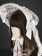 Thumbelina Lolita Dress Matching Bonnet by YUPBRO Lolita