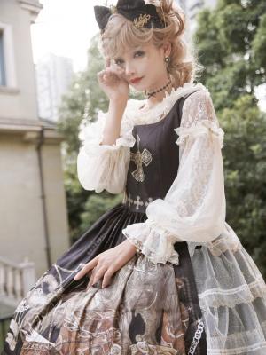 Monica's Garden Lolita Dress Matching Blouse by ZeeYe Studio