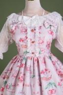 DevilInspired Special Offer - Strawberry Picking Twill Fabric Sweet Lolita Dress Lolita JSK by Lollipops Lolita