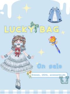 LUCKY BAG -- On Sale Lolita Bag -- Ready to Ship