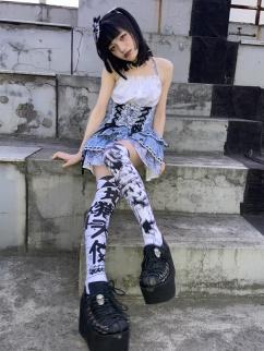 Hell Angel Lolita Stockings