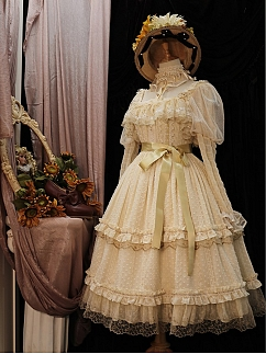 Star Pendant Square Neckline Elegant Lolita Dress JSK