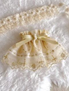 Star Pendant Elegant Lolita Dress Matching Wristcuffs