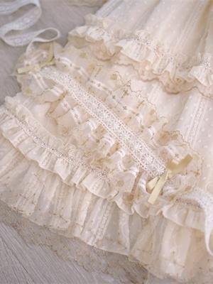 Star Pendant Elegant Lolita Dress Matching Hairband