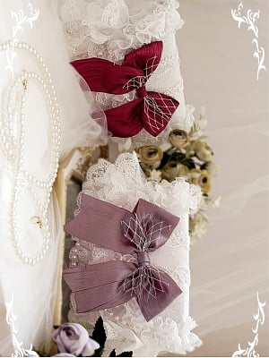 Anistora Hanayome Elegant Lolita Dress Matching Lace Bag by Akane & Thrush