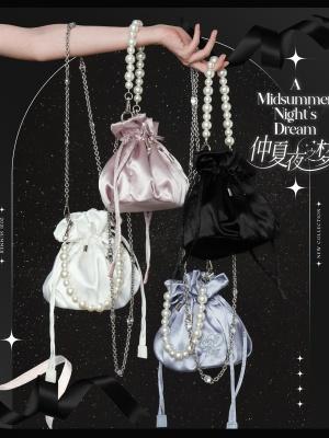 Summer Dream Lolita Dress Matching Bag by Bacio Bouquet