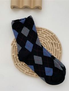 Black Diamond Lattice Lolita Stockings