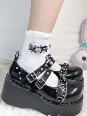 Sweet Princess JK Bowknot Candy Decorative Lolita Socks