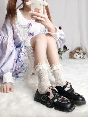 JK Lace Lolita Socks