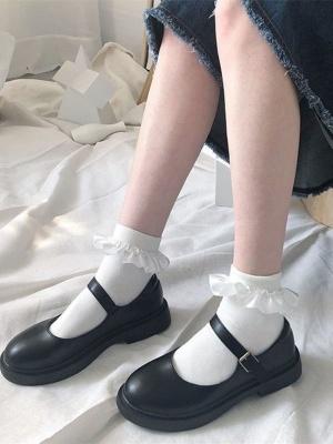 JK Bowknot Decorative Lolita Socks